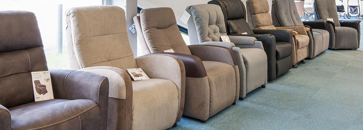 Une large gamme de fauteuils releveurs Bastide Nancy